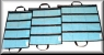 Nantucket Bound Divided Fold-Up Lure Bags  8 Pocket